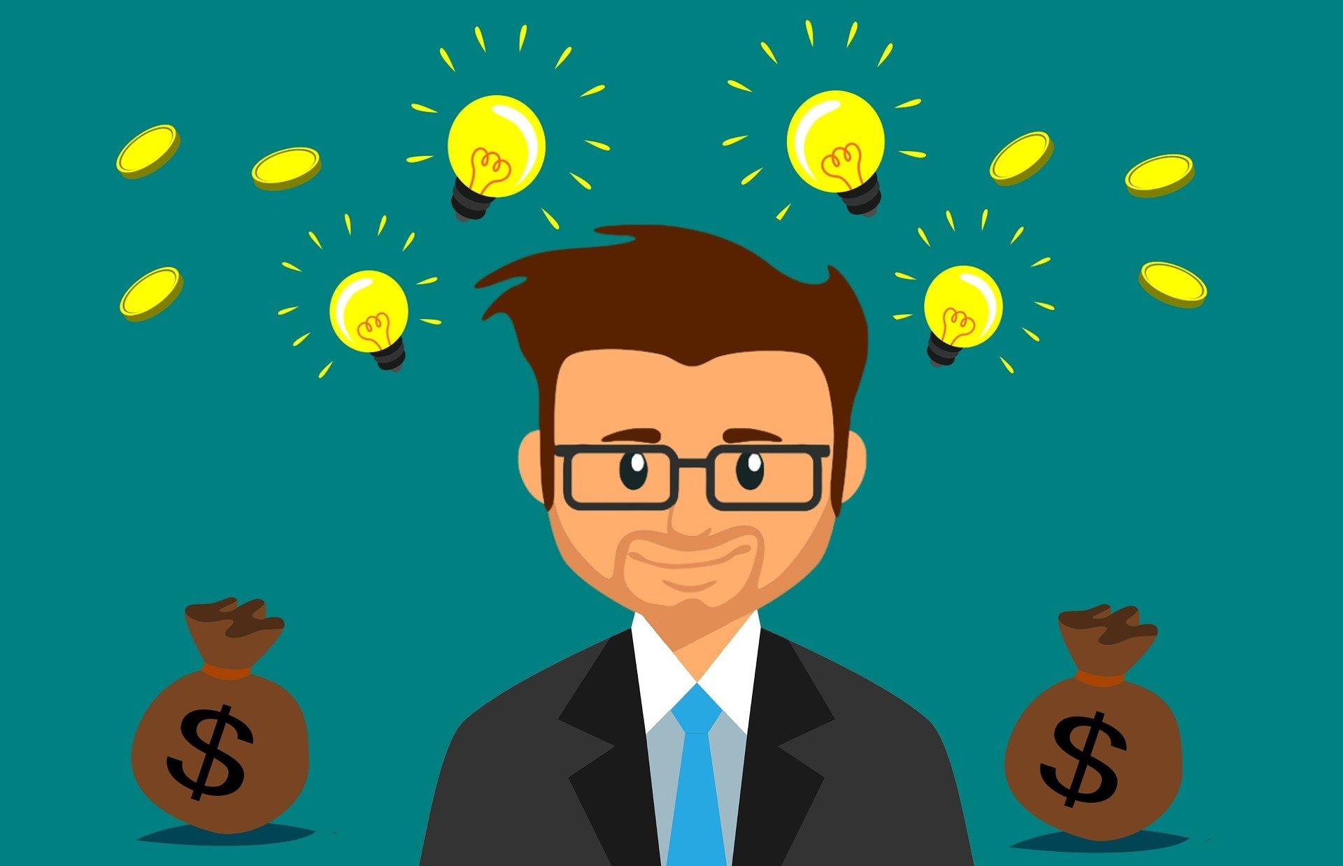 Inversores, empresas, emprendedor